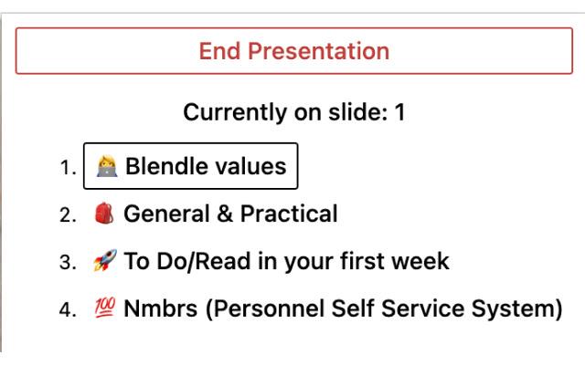 Notion Slide Shows