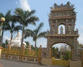 Photo: Chùa Vĩnh Tràng được xây dựng vào đầu thế kỷ 19, được xếp hạng di tích lịch sử - văn hóa cấp quốc gia