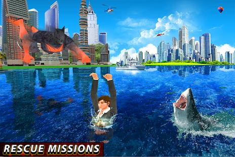 Flying Bat Hero City Rescue - náhled