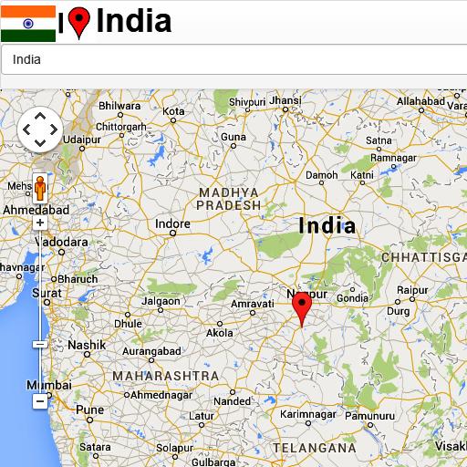Bhopal map