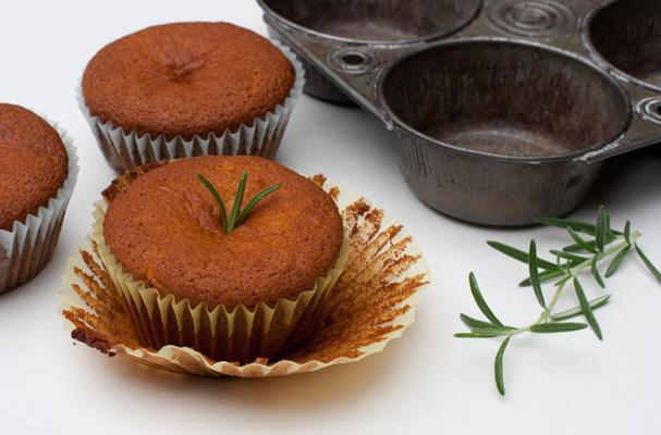 Gluten Free Dairy Free Orange Rosemary Cupcakes