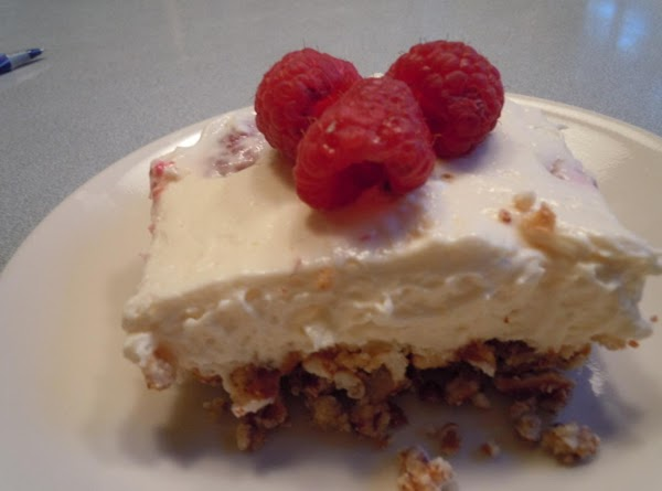 Raspberry White Chocolate Dessert Squares Recipe