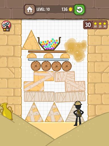 Catch the Treasure - Remove blocks 1.3.7 screenshots 16