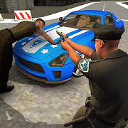 Police Car Driving Game: Theft in Crime City