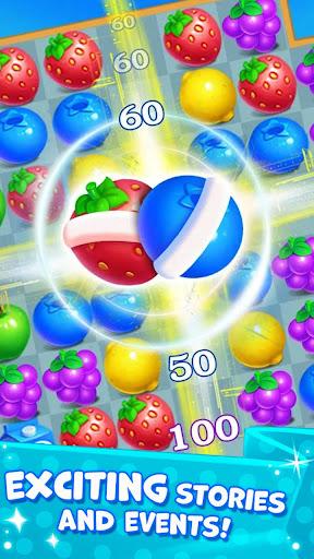 New Fruit Match 3 : Princess Fruit Garden Match ss2