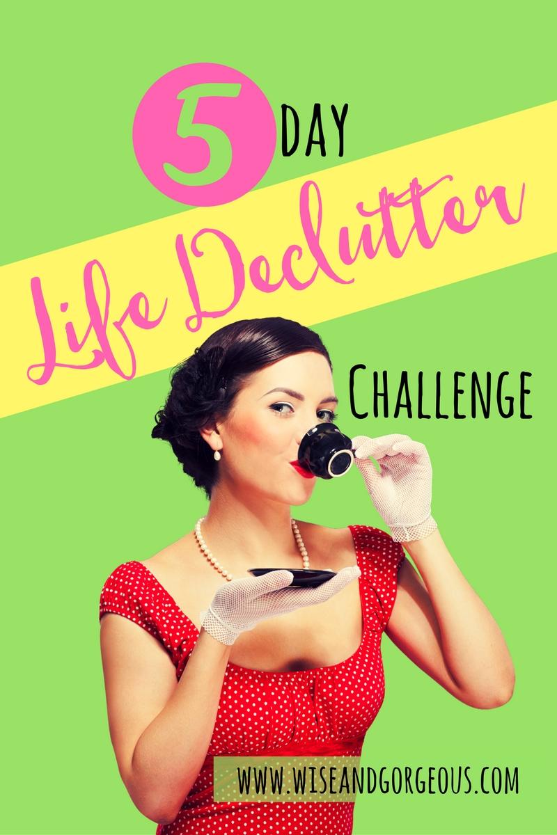 5 Day Declutter Challenge