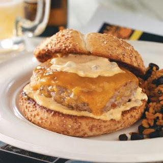 Bayou Burgers with Spicy Remoulade.