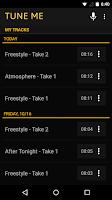 Screenshot of Tune Me