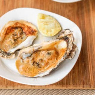 Broiled Oysters with Asian Sauce {Gluten-Free, Dairy-Free}.