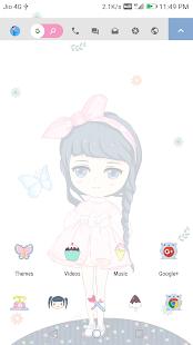 Innocent Girl EMUI 5 Theme - náhled
