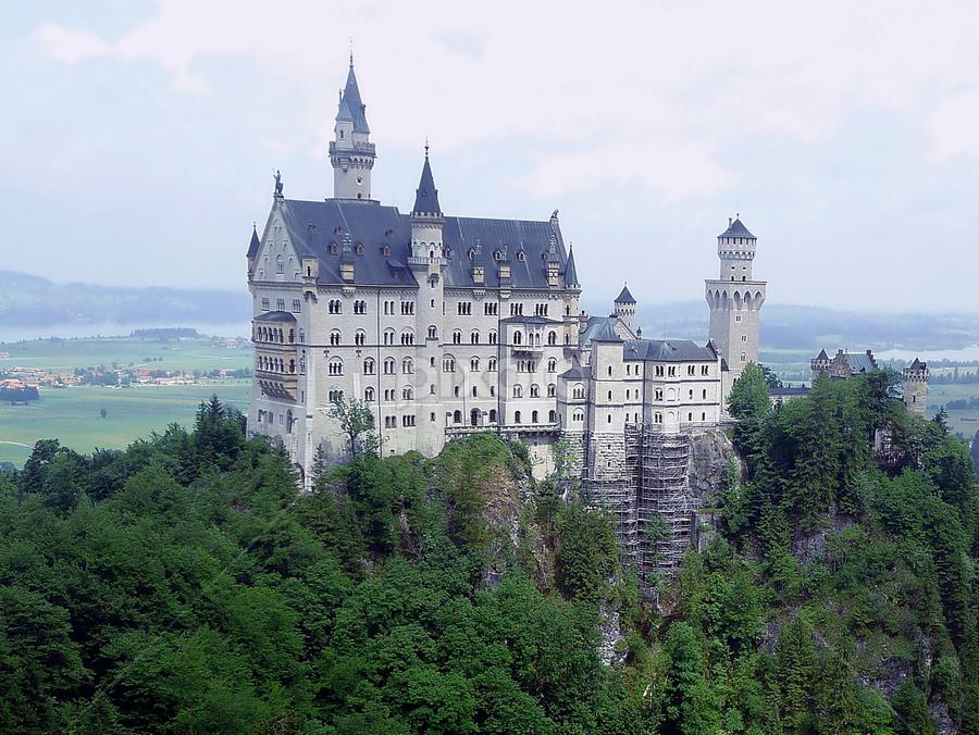 Neuschwanstein Castle by Tony Huffaker - Travel Locations Landmarks ( bravaria, castle, germany, neuschwanstein, World, Beauty, Beautiful, Representing, Special, landmark, travel,  )