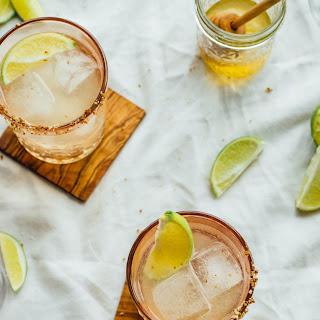 Honey and Smoke Mezcal Cocktail.