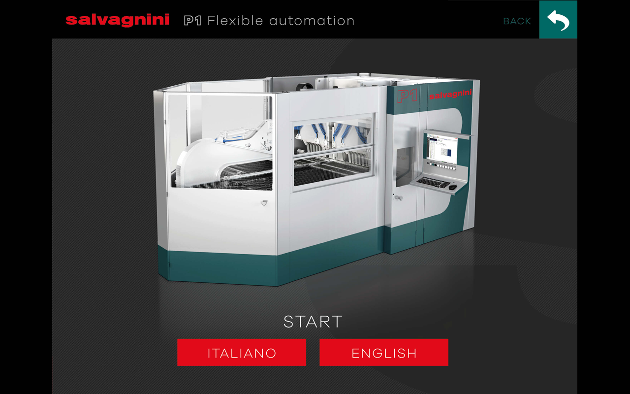 Salvagnini Kiosk- screenshot