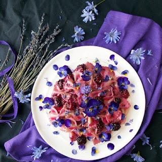 Blackberry Lavender Pasta.