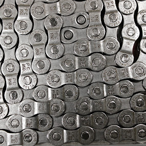 Chain by Miles Scanlon - Transportation Bicycles ( bike, chain, silver, bicycle )