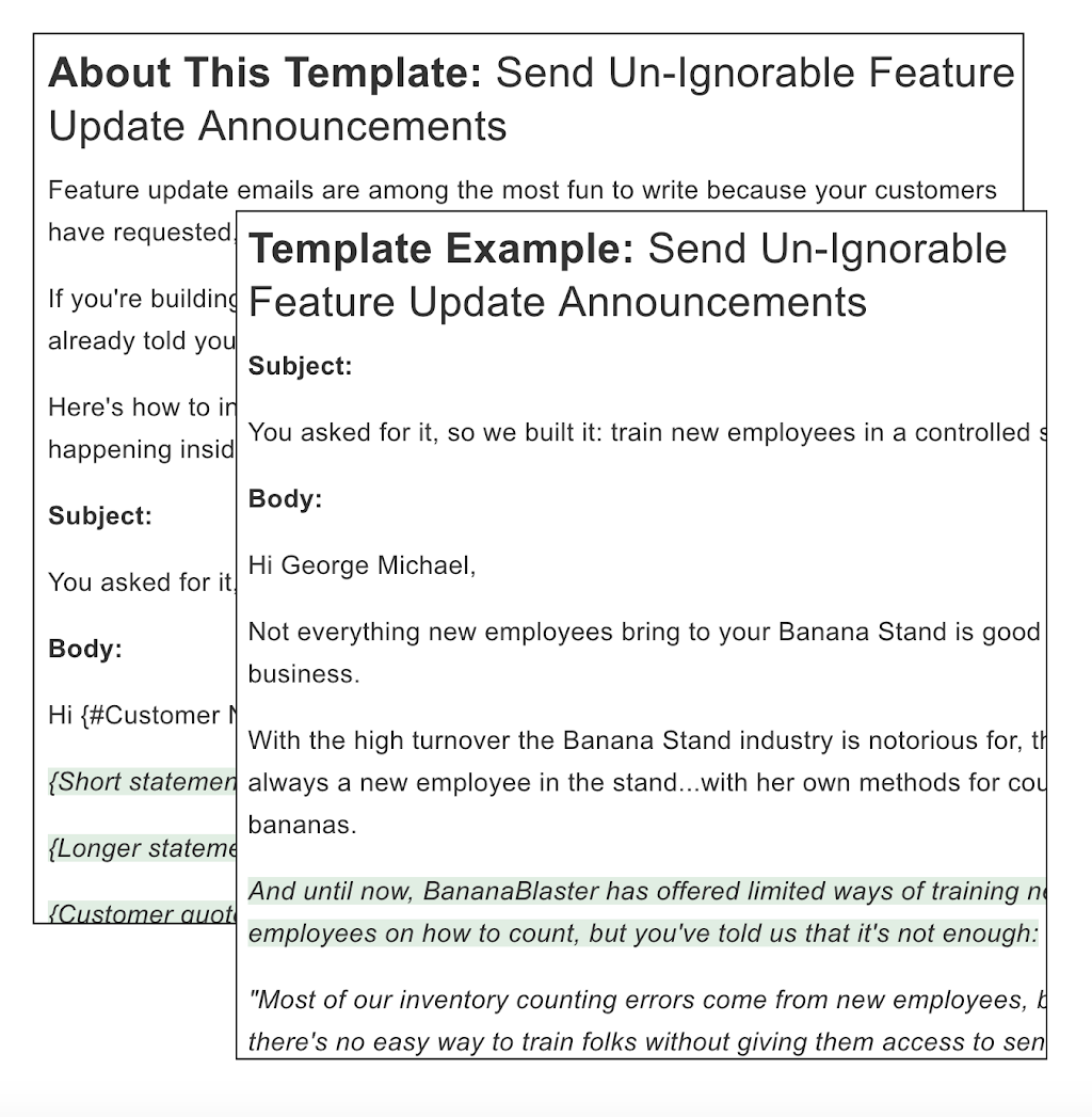 Autopilot Feature Update Email Template