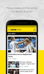 BBC Sport- screenshot thumbnail