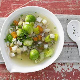 Tofu-Vegetable Stew.