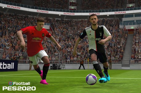 EFOOTBALL PES MOD APK DOWNLOAD FREE HACKED VERSION 2020 3