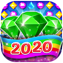 Bling Crush - Jewels & Gems Match 3 Puzzle Game icon