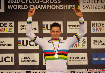 "Van der Poel na wereldtitel: ""Eén van de zwaarste crossen die ik ooit reed"""