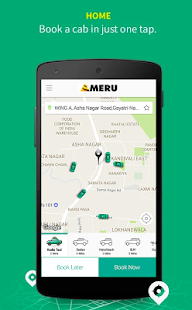 Meru Cabs- screenshot thumbnail