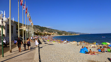 Photo: Menton beach