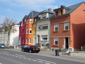 Photo: Day 21 - More Pastel Houses in Luxembourg