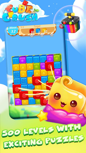 Cube Crush: Collapse & Blast Game - screenshot