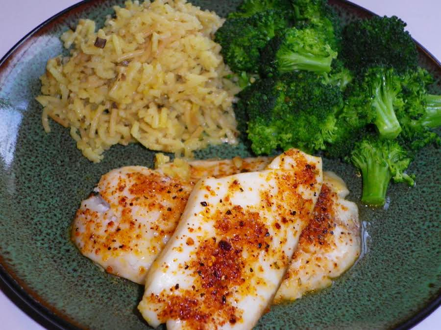 Baked Tilapia With Lots of Spice Recipe - Genius Kitchen