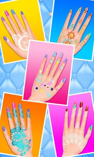 Code Triche Nail Henna Beauty SPA Salon 2 APK MOD screenshots 4