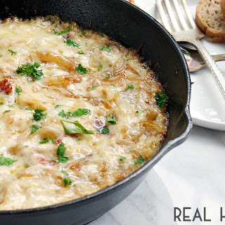 Caramelized Onion & Bacon Skillet Dip