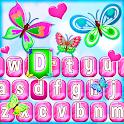 Cute Butterfly Emoji Keyboard icon