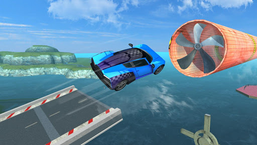 Mega Ramp Car Racing :  Impossible Tracks 3D - screenshot
