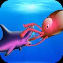 Octopus vs Shark icon
