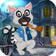 Best Game 420- Funny Cartoon Racoon  Escape Game (game)