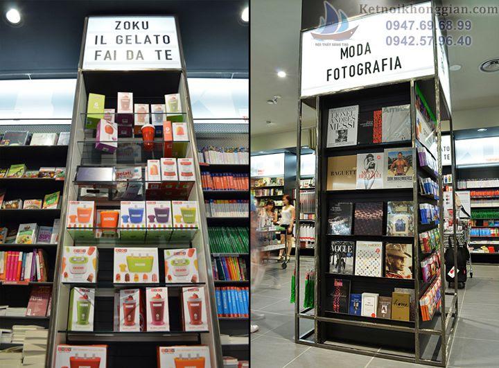 thiết kế nhà sách đẹp tại Ý