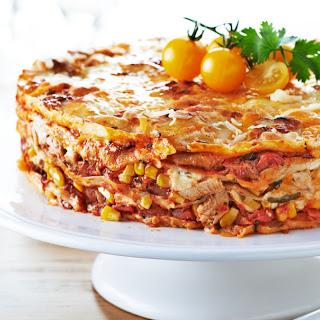 Turkey Tortilla Pie