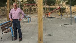 El alcalde de Huércal, Ismael Torres.