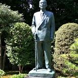 Japanese statue in Tokyo in Tokyo, Tokyo, Japan