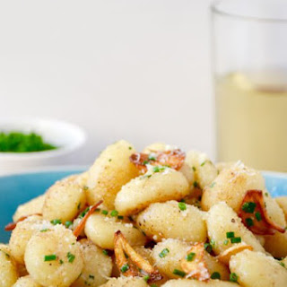 Quick Gnocchi with Crispy Garlic