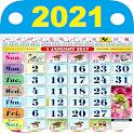Malaysia Calendar 2021 - HD icon