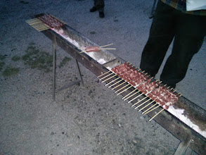 Photo: E infine i classici arrosticini di Fonte Vetica!