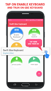 Swift Gbe Keyboard - náhled