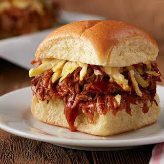 Carolina-Style BBQ Pulled Pork Sliders.