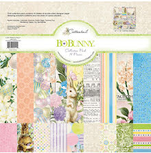 BoBunny Collection Pack 12x12 - Cottontail UTGÅENDE