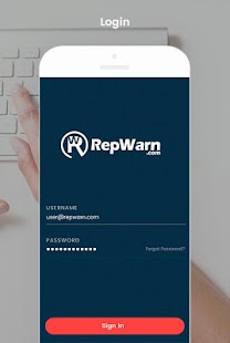RepWarn- screenshot thumbnail