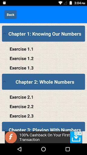 Class 6 Maths CBSE Solutions 0.7 screenshots 2