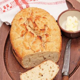 No-Knead Sourdough Bread.