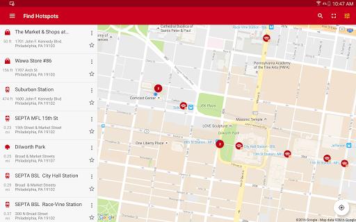 Xfinity WiFi Hotspots 5.6.2 screenshots 10
